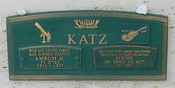 Amrom H. Katz