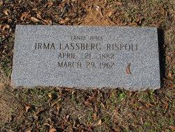 Irma <I>Lassberg</I> Bishop