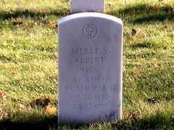 Merle Stanley Albert