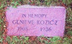 "Genieve Frances ""Geneva"" <I>Davis</I> Kozicz"