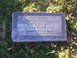 Frances <I>Thomas</I> Durham