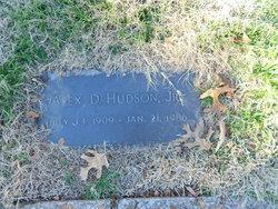 "Alexander Davidson ""Alex"" Hudson, Jr"