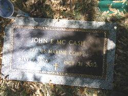 John E McCash