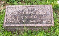 Gertrude Mae <I>Badgley</I> Caron