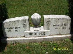 Martha Jane <I>Lipsett</I> Whipple
