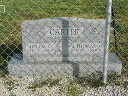 Helen Louise <I>Welch</I> Carter