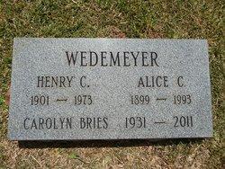 Carolyn A. <I>Wedemeyer</I> Bries