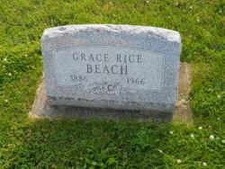 Grace <I>Rice</I> Beach