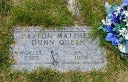 Dayton Matthew Dunn Queen