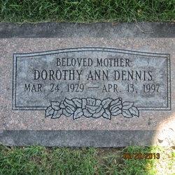 Dorothy Ann <I>Brownyard</I> Dennis