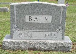 Effie Elizabeth <I>Wilt</I> Bair