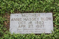 Annie <I>Massey</I> Blow