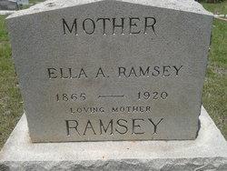 Ella Ann <I>Andrews</I> Ramsey