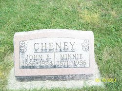 Minnie Belle <I>Hall</I> Cheney
