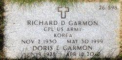 Richard D Garmon