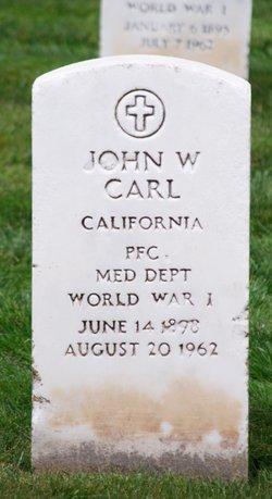 John W Carl