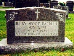 Ruby Garnett <I>Wood</I> Parish