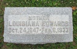 """Louisiana """"Lou"""" <I>Cannon</I> Edwards"""