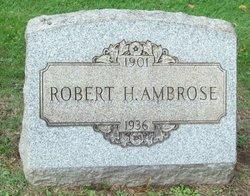 Robert H Ambrose