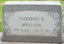 Catherine I <I>Haines</I> Boylstein