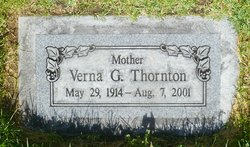 Verna <I>Gregerson</I> Thornton