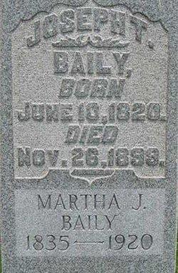 Martha Jane <I>Lee</I> Baily