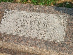 George C Converse