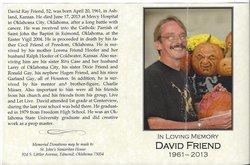 David Ray Friend