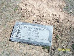 Bernice Maureen <I>Duniven</I> Stribling