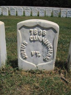 Pvt Julius Cunningham
