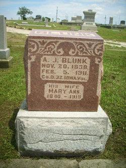 Amos J Blunk
