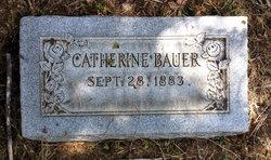 Catherine <I>Berger</I> Bauer