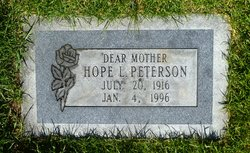 Hope Peterson