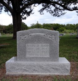 Alvin D Earp