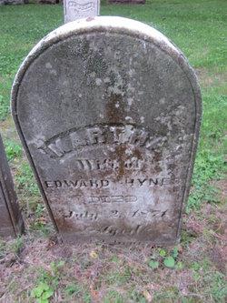 Martha <I>McComb</I> Hynes