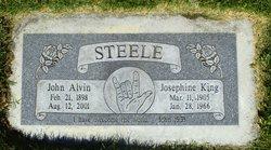 Josephine Lillian <I>King</I> Steele