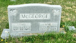 Mary <I>Brewer</I> McGeorge