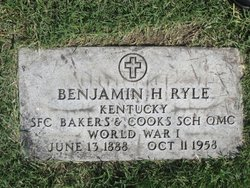 Benjamin H Ryle