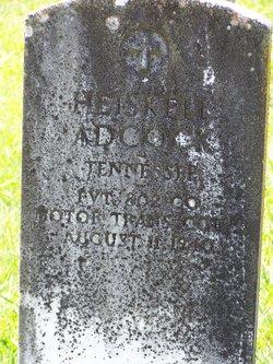 Pvt Heiskell Adcock