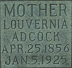 Louvernia D. <I>Parish</I> Adcock