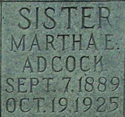 Martha E. Adcock