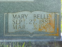 Mary Belle <I>Cantrell</I> Adcock