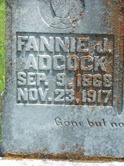 """Frances Jane """"Fannie"""" <I>Magness</I> Adcock"""
