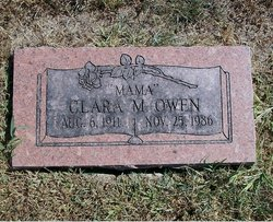 Clara M. <I>Davis</I> Owen
