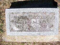 Mary Louise <I>Kern</I> Bosshart