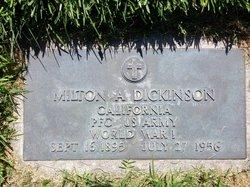 "Milton Arthur ""Dick"" Dickinson"