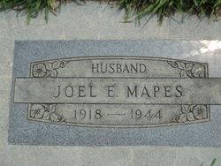 """Joel Edwin """"Jack"""" Mapes"""