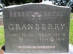 Mary Belle <I>Summerton</I> Granberry