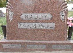 Eva <I>Haddy</I> Haddy