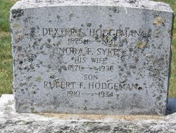 Nora Fuller <I>Sykes</I> Hodgeman